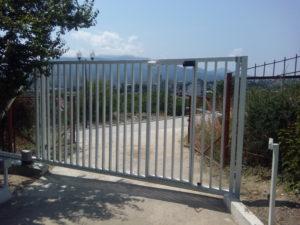 ворота сдвижные